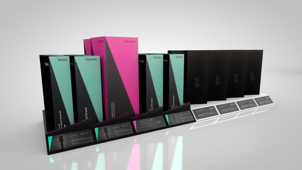 GHD Shelf Display