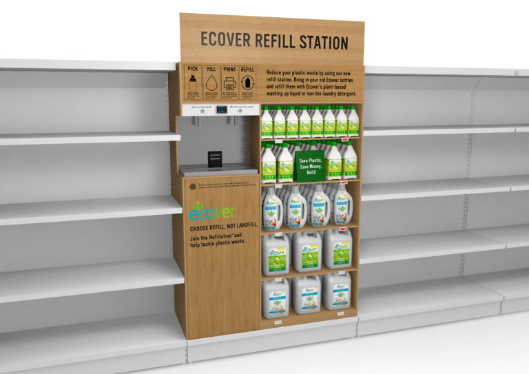 Ecover Refil Station